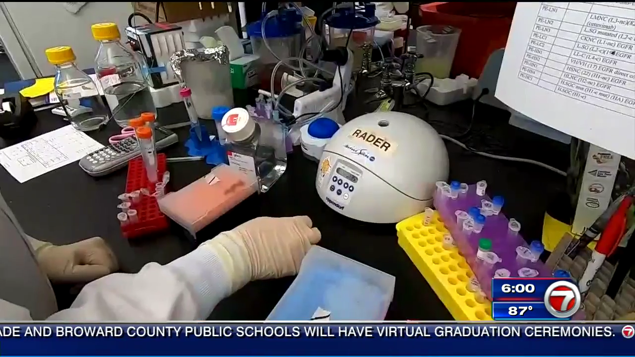 Possible Coronavirus Breakthrough Made In South Florida Lab Wsvn 7news Miami News Weather Sports Fort Lauderdale