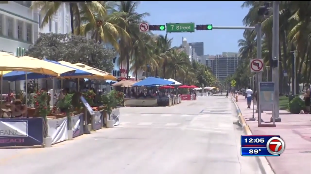 Curfew to go into effect for Miami Beach