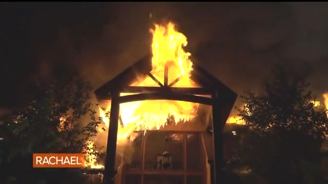 Rachael Ray opens up about devastating house fire on talk ...Rachael Ray House Fire Drone