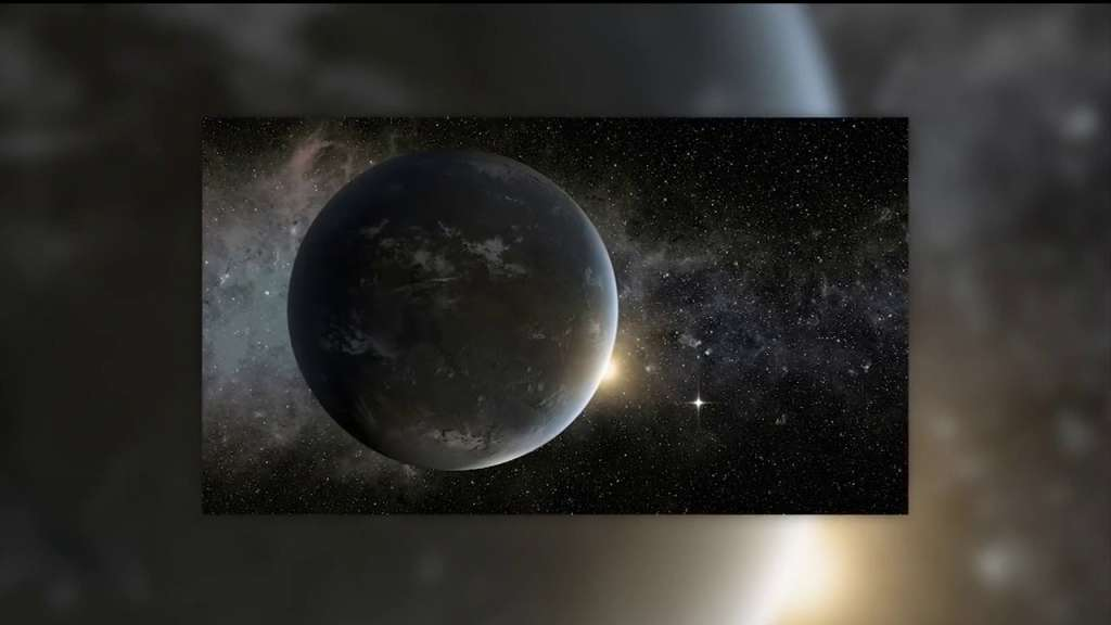 NASA announces discovery of 'super-Earth'