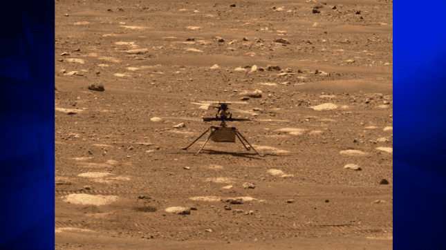 wsvn.com - CNN - Mars helicopter's first flight could happen on Monday