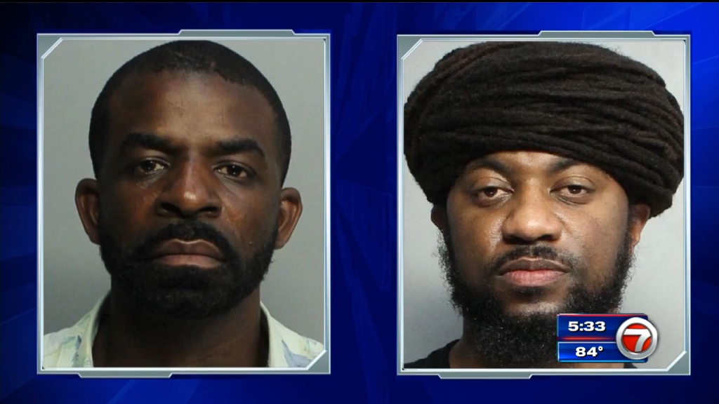 Police seize 2 firearms, arrest 2 after traffic stop in Miami Beach