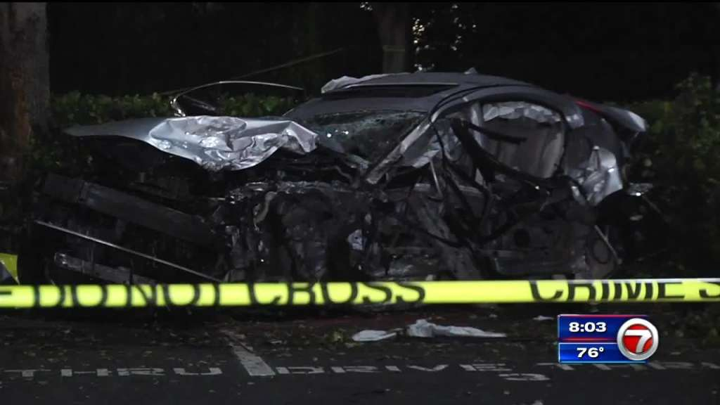Woman killed after a three-vehicle collision on Hans