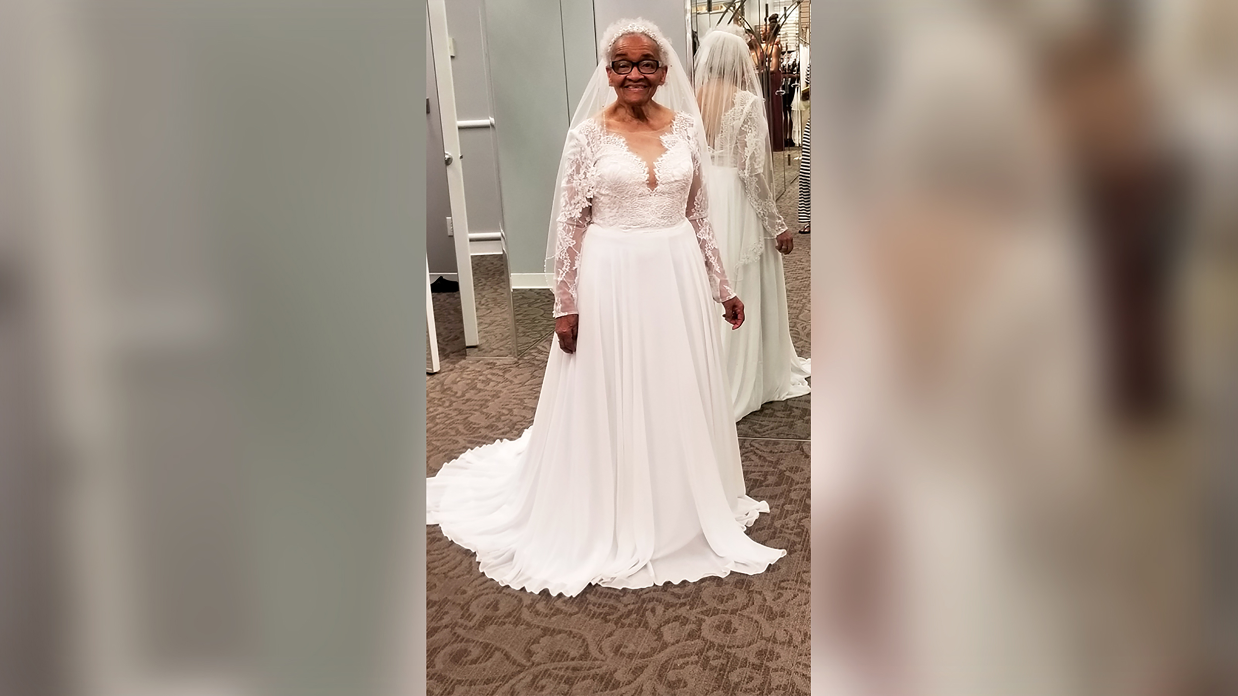 Racism stopped her from trying on a wedding dress. Seventy years ...